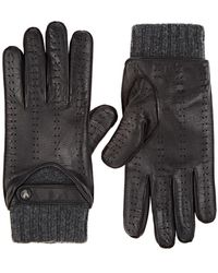 Christophe Fenwick - Le Mans Cashmere-lined Leather Gloves - Lyst
