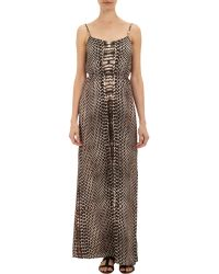Twelfth Street Cynthia Vincent - Women's Python-print Maxi Dress - Lyst