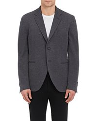 James Perse - Brushed Cotton Two-button Sportcoat - Lyst