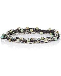 Feathered Soul - Pine Wrap Bracelet - Lyst