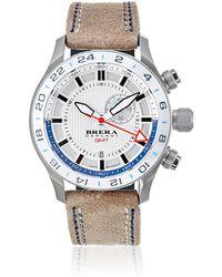 Brera Orologi - Eterno Gmt Watch - Lyst