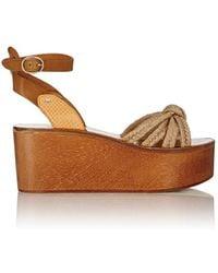 Étoile Isabel Marant - Kia Platform Wedge Sandals - Lyst
