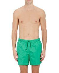 Acne Studios Perry Swim Trunks - Green