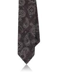 Luciano Barbera - Paisley Woven Wool-silk Necktie - Lyst