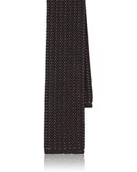 Luciano Barbera - Silk Crochet Necktie - Lyst