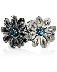Lanvin - Floral Charm Bracelet - Lyst