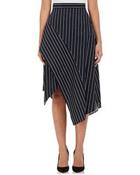 N Nicholas | Striped Poplin Skirt | Lyst