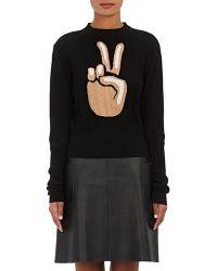 Ji Oh - Peace Emoji Sweater - Lyst