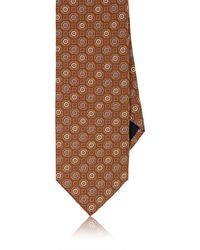 Massimo Bizzocchi - Floral Medallion Silk Necktie - Lyst