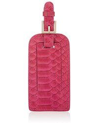 Barneys New York Luggage Tag - Pink