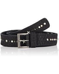 Zadig & Voltaire - Starlight Leather Belt - Lyst