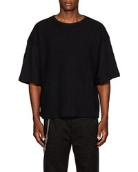 Chapter - Reverse Cotton Terry T-shirt - Lyst