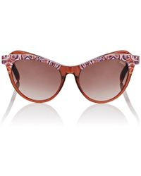Emilio Pucci P0035 Sunglasses - Orange