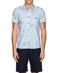 Orlebar Brown - Francis Gieves & Hawkes Cotton Poplin Shirt - Lyst