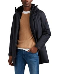 Save The Duck Faux-fur-lined Tech-twill Parka - Black