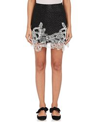Jourden | Jacquard Appliquéd Miniskirt | Lyst