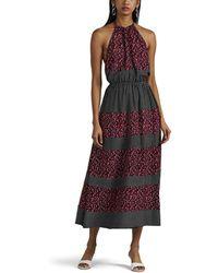Robert Rodriguez - Floral Halter Dress - Lyst