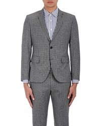 Brooklyn Tailors - Micro-houndstooth Wool Two - Lyst