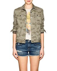 ATM - Camouflage Cotton Jacket - Lyst