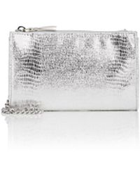 Barneys New York - Hannah Metallic Crossbody Bag - Lyst
