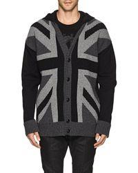 Balmain - Union Jack Wool - Lyst