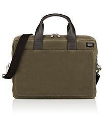 Jack Spade Waxwear Commuter Briefcase - Green