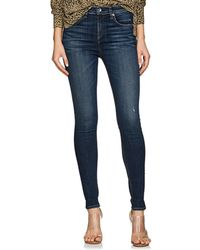 Rag & Bone Elton High-rise Skinny Jeans - Blue