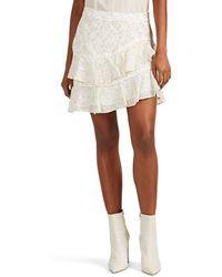 da66d7ef22 10 Crosby Derek Lam - Silk-blend Tiered Ruffle Skirt - Lyst