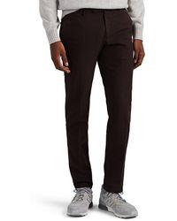 Incotex Cotton Slim Pants - Purple