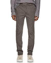 ATM - Cotton Cuffed Trousers - Lyst