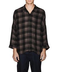 Chapter - Checked Camp Shirt - Lyst