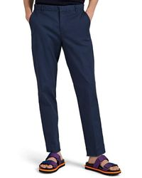 ATM - Cotton Twill Slim Trousers - Lyst