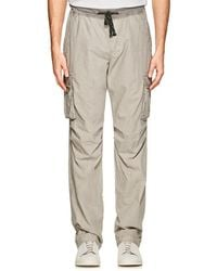 James Perse - Cotton Poplin Cargo Pants - Lyst