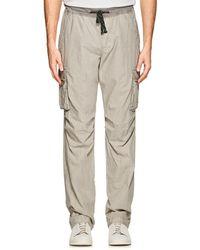 James Perse - Cotton Poplin Cargo Pants - Lyst
