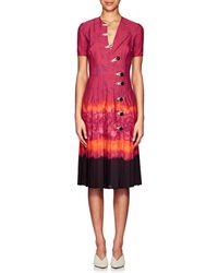 Altuzarra Ilari Tie-dyed Dress - Red