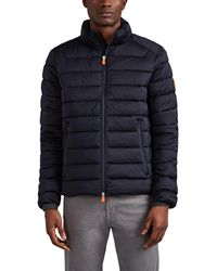Save The Duck Tech-taffeta Quilted Jacket - Blue