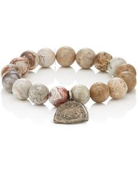 MI by Miracle Icons - Spiritual Icon Charms On Beaded Bracelet - Lyst
