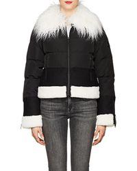 William Rast - Faux-fur-trimmed Puffer Jacket - Lyst