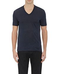 John Varvatos - Basic V-neck T-shirt - Lyst