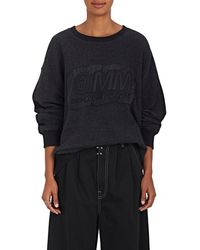 MM6 by Maison Martin Margiela - Cotton-blend French Terry Sweatshirt - Lyst