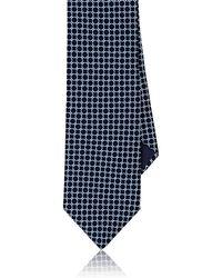 Piattelli - Neat Silk Foulard Necktie - Lyst