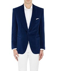 Cifonelli Velvet One-button Tuxedo Jacket