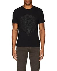 Just Cavalli - Embroidered Cotton Jersey T-shirt - Lyst