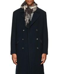 Barneys New York | Checked Cashmere Scarf | Lyst
