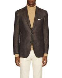 Pal Zileri - Step-weave Wool-blend Two-button Sportcoat - Lyst