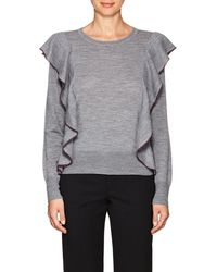 Rhié | Cass Ruffle Wool Sweater | Lyst