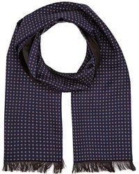 Bigi - Pinstriped & Medallion-pattern Wool - Lyst