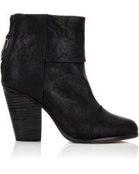 Rag & Bone - Newbury Leather Ankle Boots - Lyst