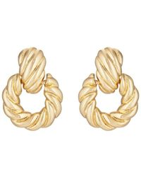 Kenneth Jay Lane - Yellow - Gold-plated Earrings - Lyst