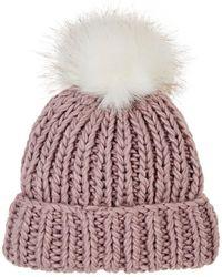 Barneys New York - Pom-pom-embellished Wool - Lyst